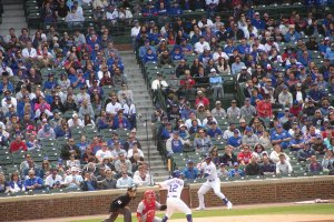Kyle Schwarber up to bat - June 3, 2019