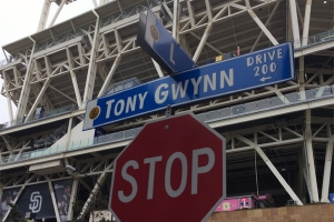 Tony Gwynn Drive Sign