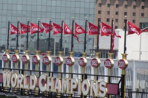 Championship banners - so they won a few