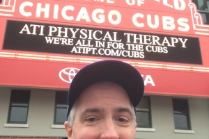 Pat at the Marque at Wrigley