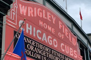 Wrigley Field Marquee - April 24, 2019