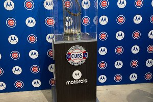 World Series Trophy - April 24, 2019